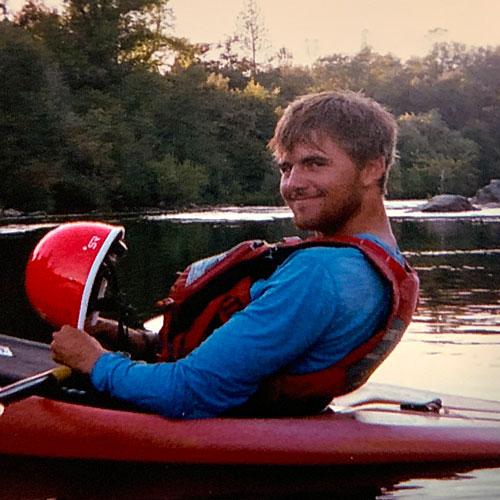 Cole Sornborger, river guide for ARTA River Trips