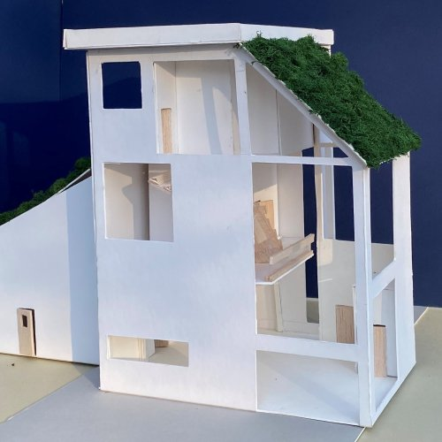 model of a house
