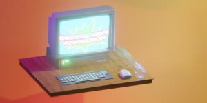 A graphic of a computer