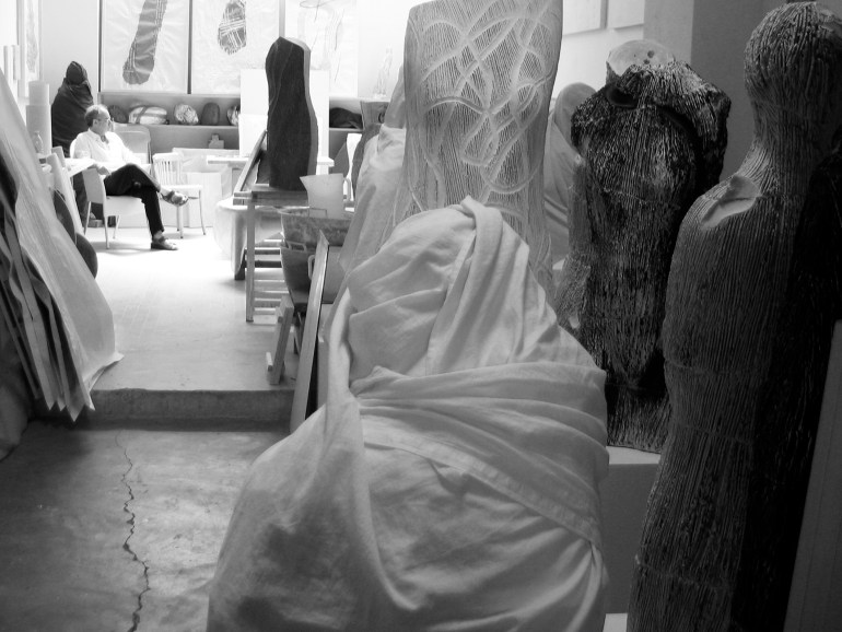 Antonio Violetta nel suo studio