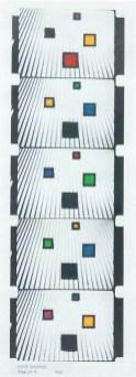 LUIGI VERONESI, Film n.5, 1940 - stampa fotografica, dal film originale, dipinta con anilina, 51x37 cm | Courtesy Galleria 10 A.M. Art, Milano
