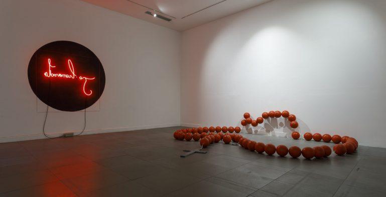 CSArt: Veduta della mostra ARIA. 2009 - 2019 dieci anni di Factory | CAMeC, La Spezia - 2019