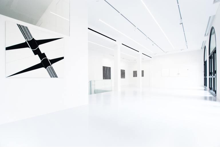 Installation view: Claudio D'Angelo - Ipotesi progettuale, 2020 - Galleria 10 A.M. ART, Milano