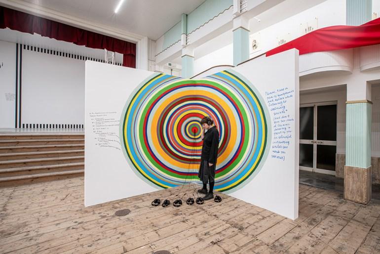Galleria Continua San Gimignano: Nedko Solakov: The Calming Sounds, 2008