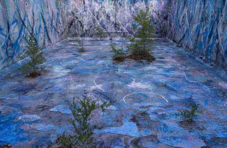 Alberto Di Fabio: paesaggi della mente, 2017- wall painting a Tagliacozzo (AQ)