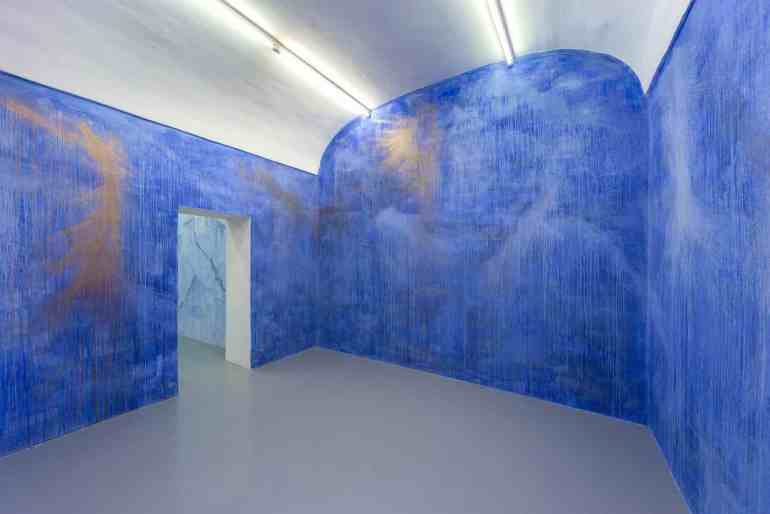 Alberto Di Fabio:  Stanze dei sogni, Wall Painting, Galleria Umberto Di Marino, Napoli  2017