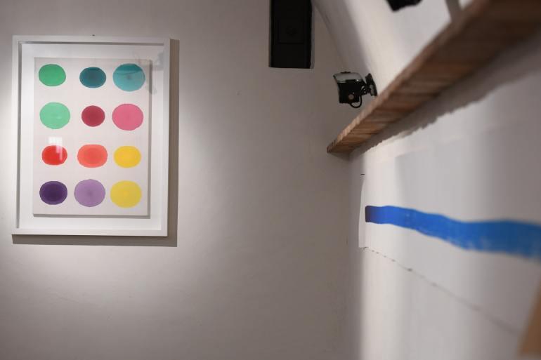 Installation view: Antonio Scaccabarozzi. Acquorea, Fondazione L'Arsenale (Iseo - Brescia), 29/04-20/06/2021