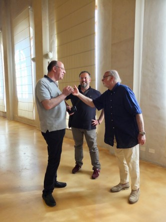 10 gruppo di discussione2 con Paoli, Tusoni, Bonesini