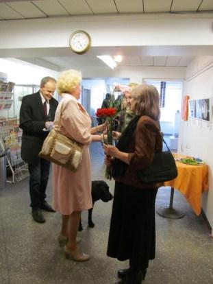 3.Art Senses näituse avamine Pärnus 30.4.2015, Sülvi ja Erika