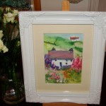 Cottage Garden watercolour