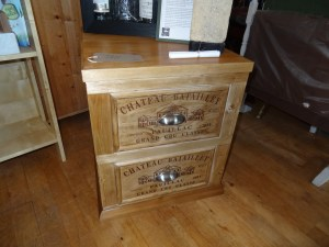 Bespoke two drawer cabinet