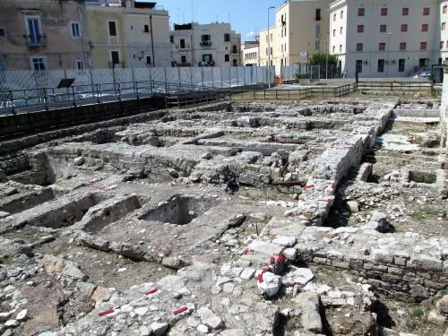 area archeologica di san pietro