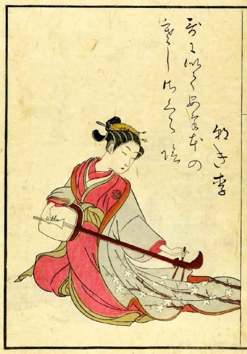 Harunobu-illustrazione