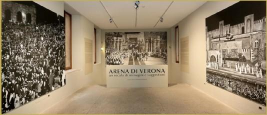 le foto dell'arena di verona a palazzo forti