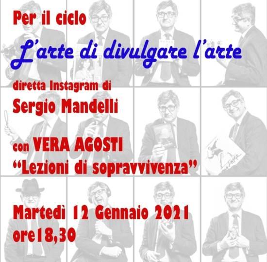 """L'Arte di divulgare l'Arte"" Dirette Instagram di Sergio Mandelli"