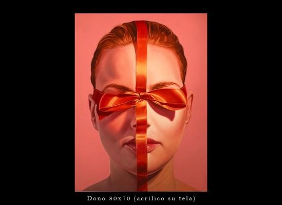 """""""Dono""""opera del Pittore Severino del Bono"""