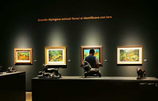 Apertura serale straordinaria della mostra Antonio Ligabue. Una vita d'artista: 16, 17 e 18 luglio aperta fino a mezzanotte