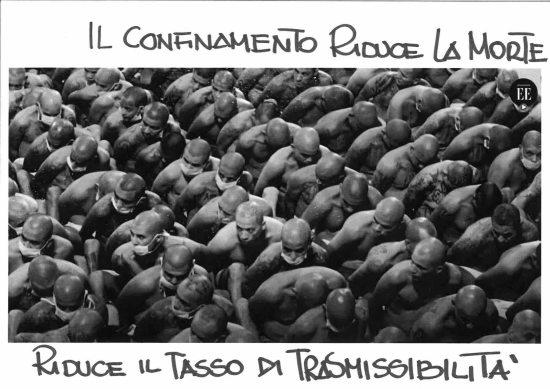 Davide D'Orazio : La pandemia all'interno del carcere