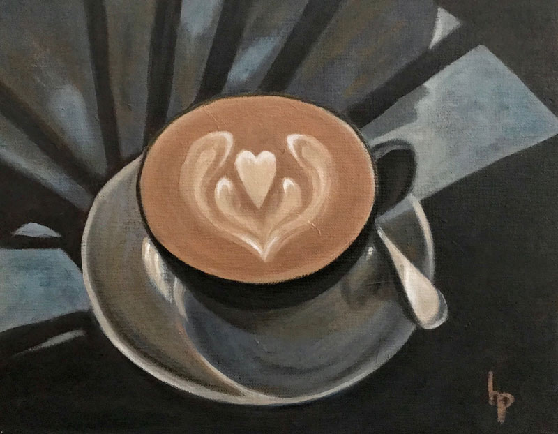 """""""Kind Cafe"""", 11"""" x 14"""""""