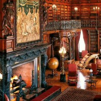 Biltmore House, la biblioteca