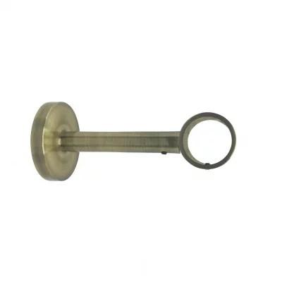 support extensible laiton 125 185 mm pour tringle a rideaux o28 mm a l unite