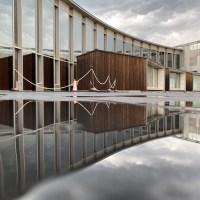 柳澤孝彦設計  上田の複合文化施設 サントミューゼ に行ってみた