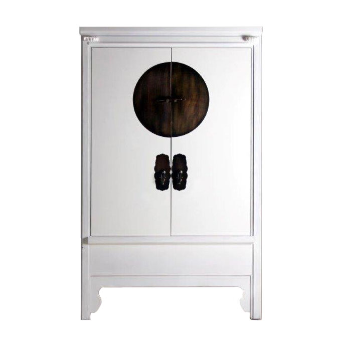 Armoire Chinoise Noire Ancienne