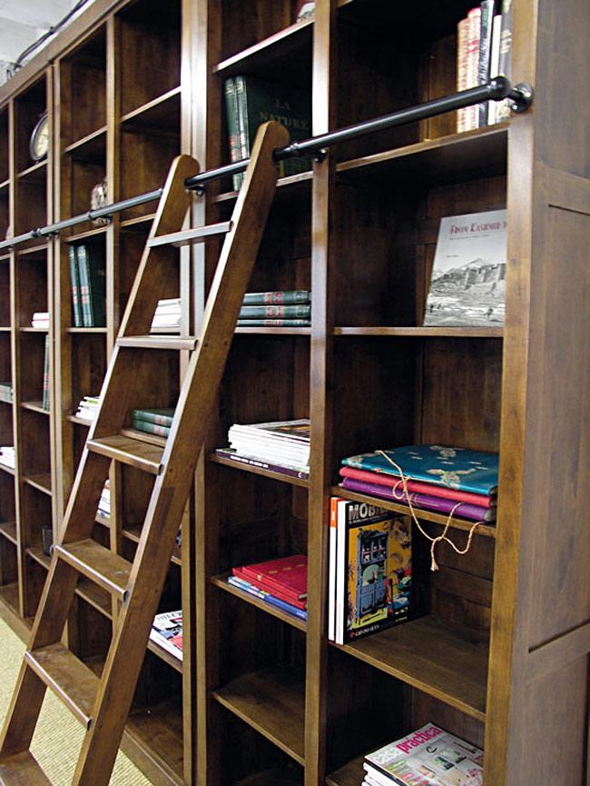 La Bibliothque Avec Chelle Magnifie Le Rangement