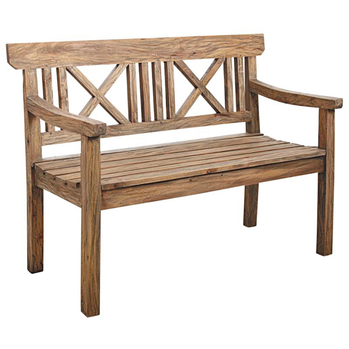 banc de jardin bois antique