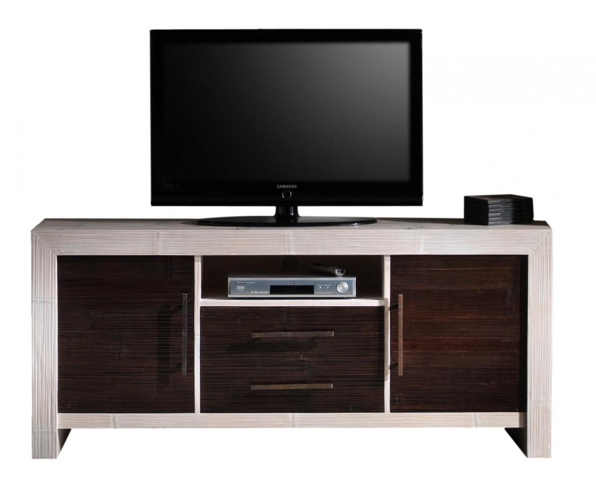 indah meuble tv haut 2 tiroirs
