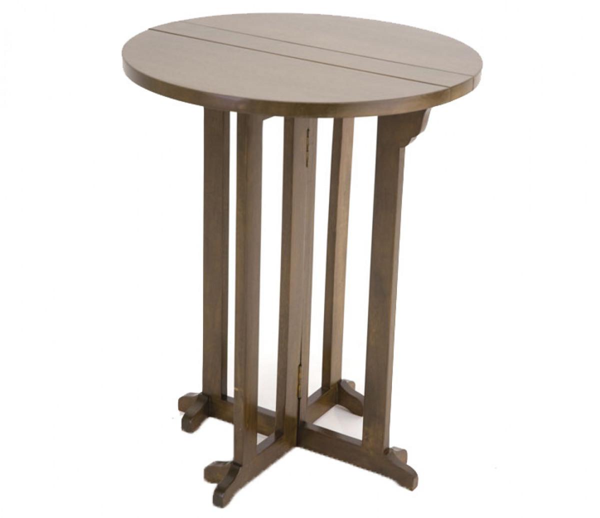 table ronde a rabat diametre 60 cm