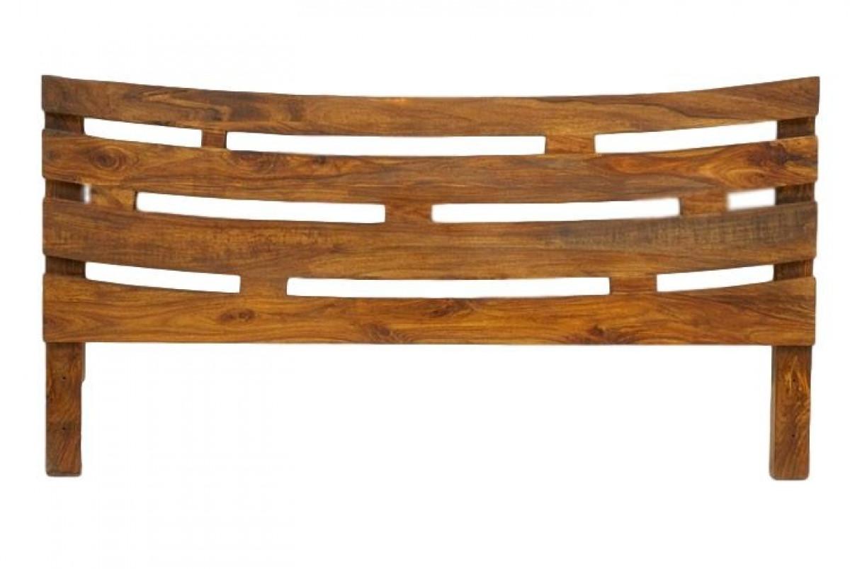 wakae tete de lit bois de palissandre