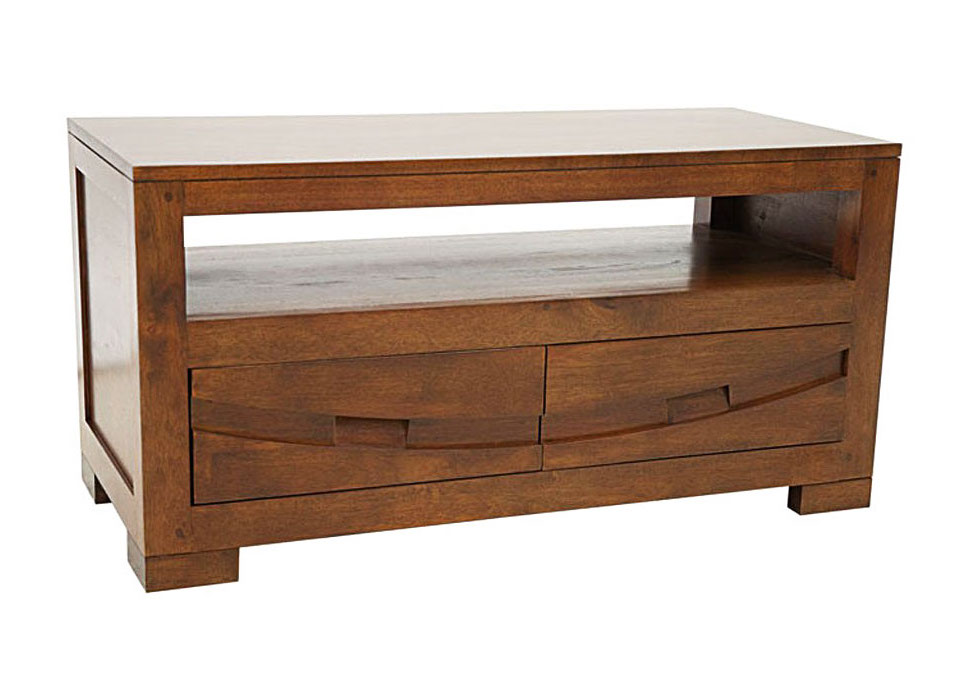 meuble tv video colonial wakae