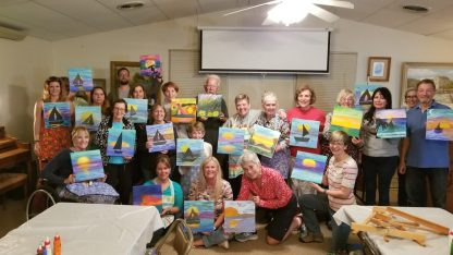 Canvas Painting Birthday Party