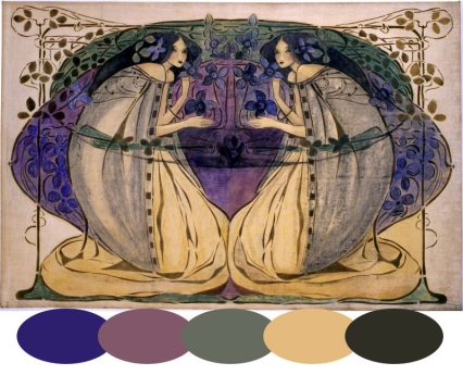 Spring by Frances MacDonald