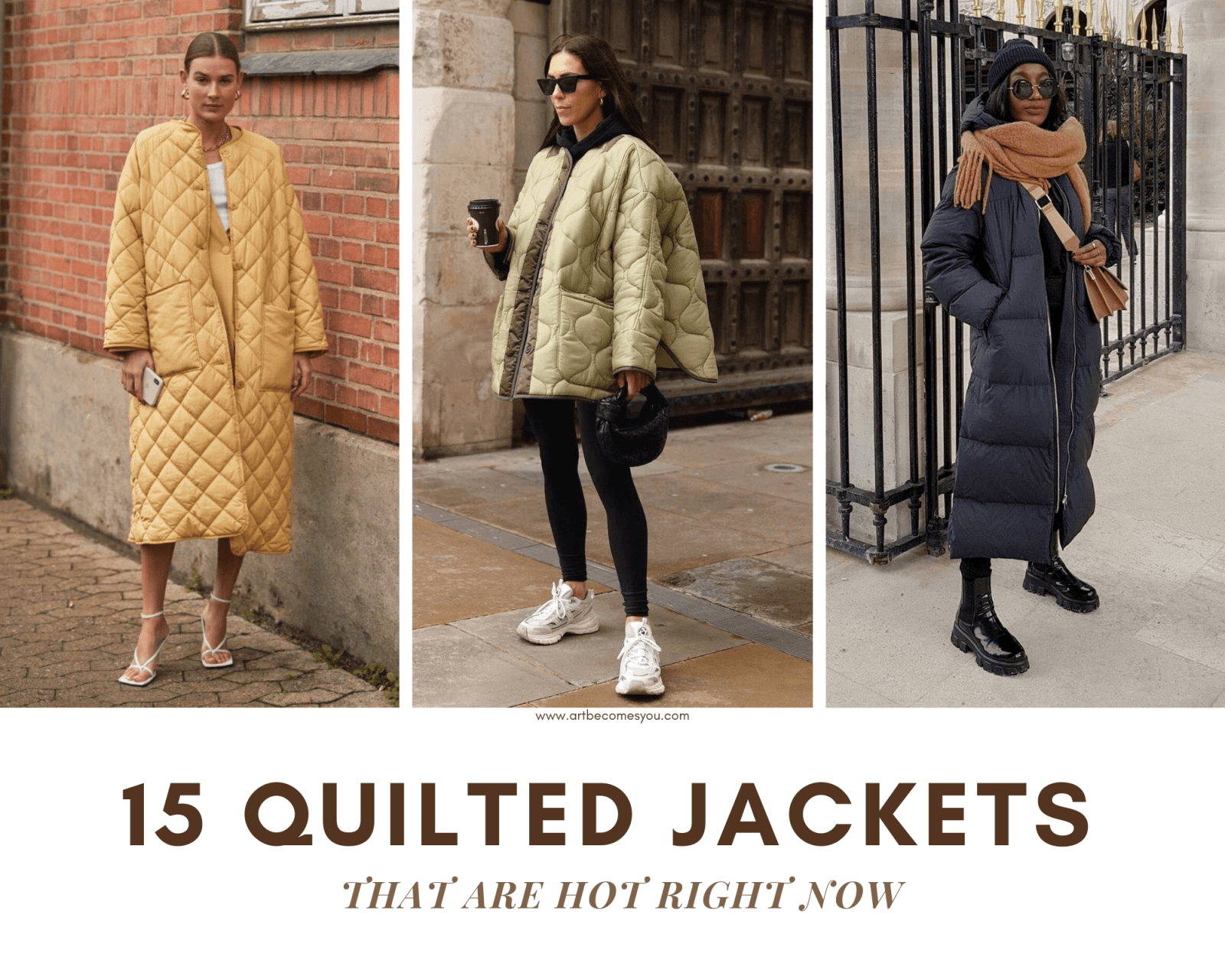 15 QUILTED JACKETS HOT RIGHT NOW