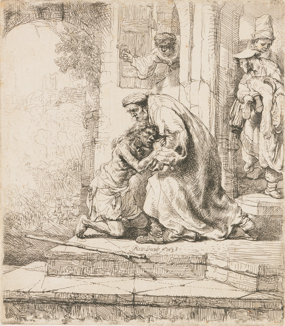 Rembrandt Harmensz. van Rijn: The Return of the Prodigal Son (1636)