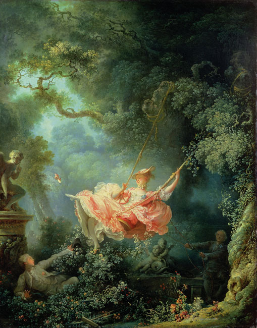 The Swing: Jean-Honore Fragonard 1767