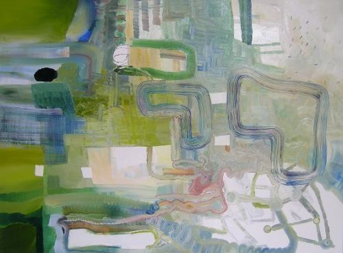[Image: Josette Urso, Crest, 2012, oil on canvas, 36 x 48 inches]