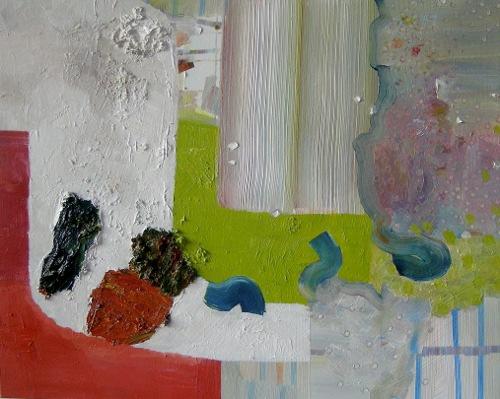 [Image: Josette Urso, Terrazzo, 2012, oil on panel, 16 x 20 inches]