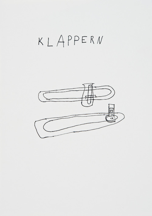 "Susanne Kümpel ""Klappern"""