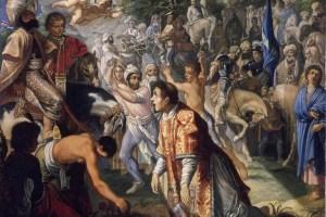 <b>Die Steinigung des Heiligen Stephanus</b>