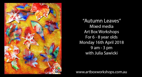 Autumn painting at Art Box Workshops