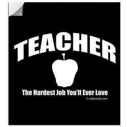 TEACHER JOB STICKERS