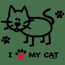 TEMP-I HEART MY CAT
