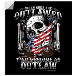 BECOME AN OUTLAW STICKERS