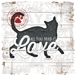 ALL YOU NEED IS LOVE CAT
