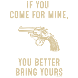 BETTER BRING YOURS