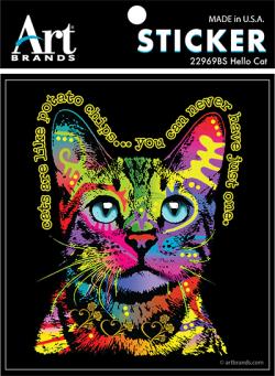 HELLO CAT STICKERS