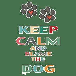 KEEP CALM DOG